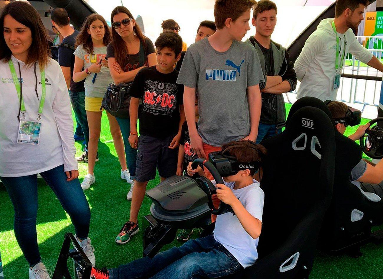 Proyectos > Automobile Barcelona VE Experience